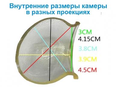 Вакуумный экстендер Penismaster Pro Light с прозрачной камерой и насосом